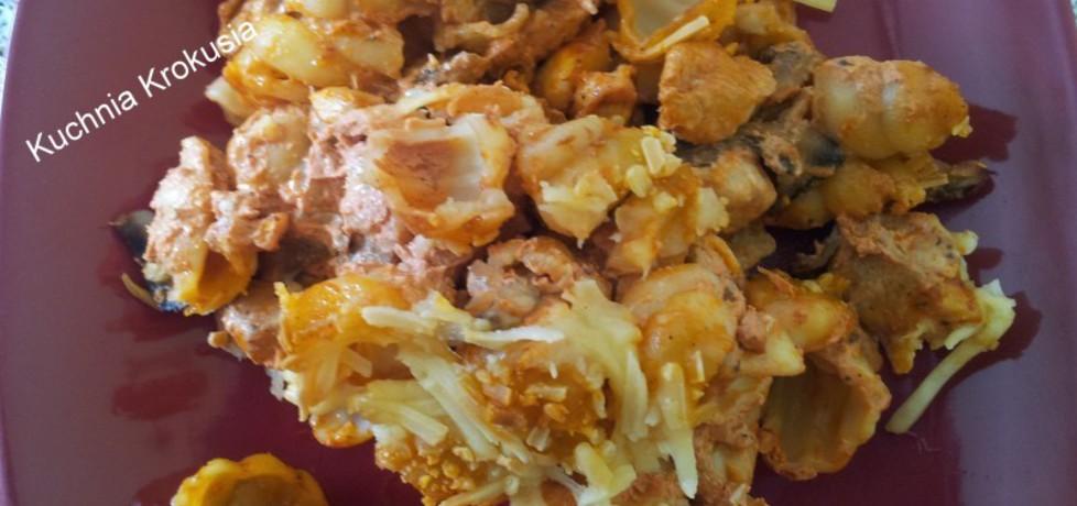 Zapiekanka z makaronem i kurczakiem (autor: krokus ...