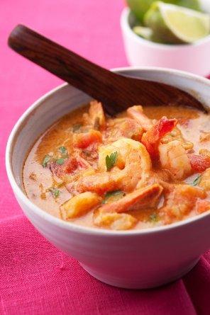 Curry z krewetek  prosty przepis i składniki