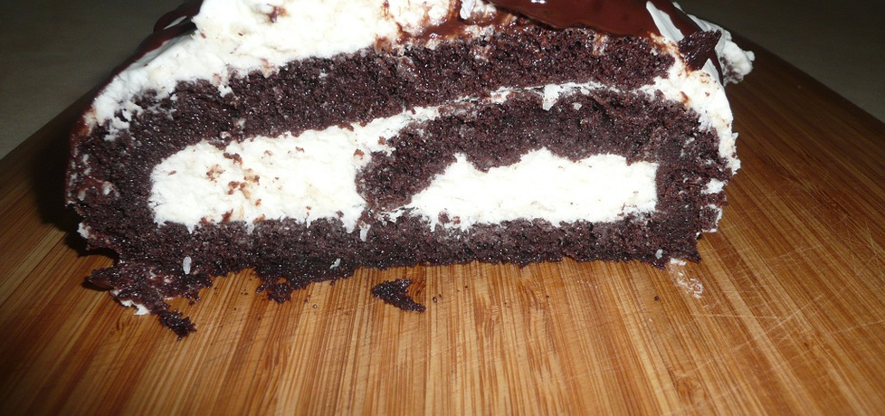 Rolada kokosowo- czekoladowa (autor: aginaa)