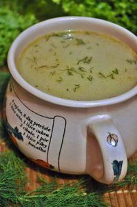 Zupa kminkowa z kluskami z kaszy krakowskiej
