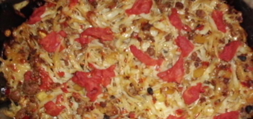 Zapiekanka makaronowa z mięsem mielonym (autor: renataj ...