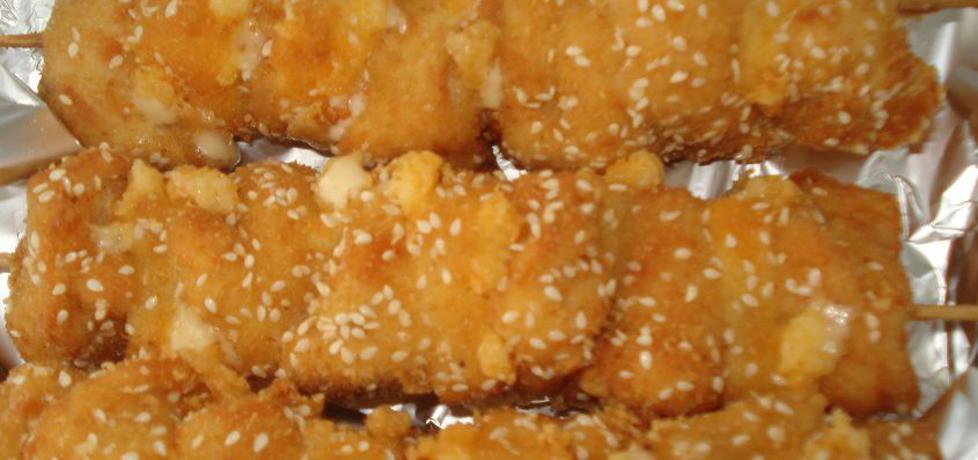Szaszłyki drobiowe z serem w sezamie (autor: ewaa ...