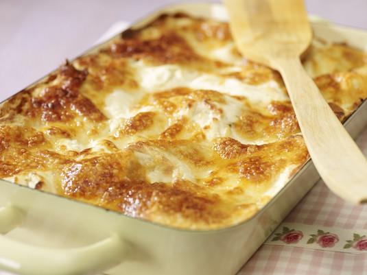 Extra ziołowa lasagne z grillowanym bakłażanem