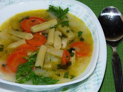 Zupa jarzynowa z fasolki szparagowej