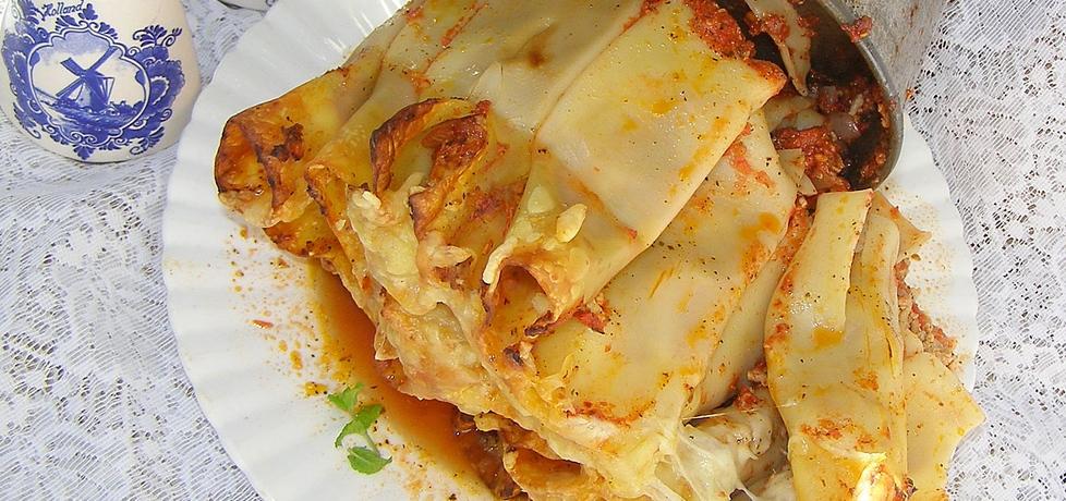 Cannelloni z mięsem z pomidorami... (autor: w-mojej