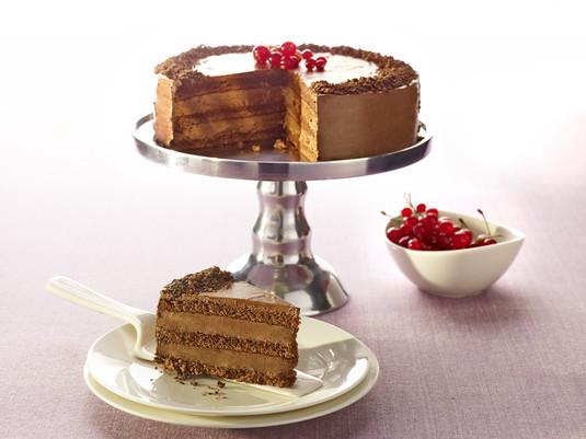 Tort czekoladowy z kremem kakaowym
