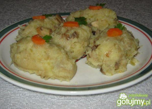Przepis  mix ziemniaki, kapusta, pieczarki przepis