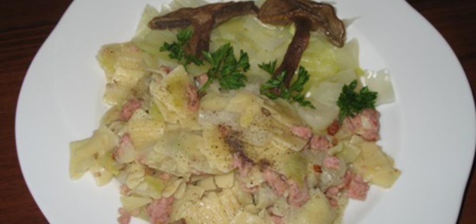 Łazanki z kapustą, mięsem i grzybami (autor: anna169hosz ...