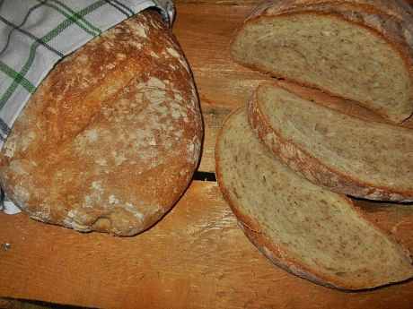 Przepis  pszenny chleb na drożdżach przepis