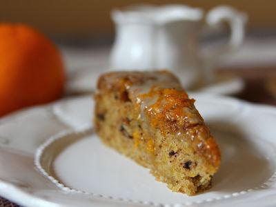 Ciasto dyniowe z nutą pomarańczy