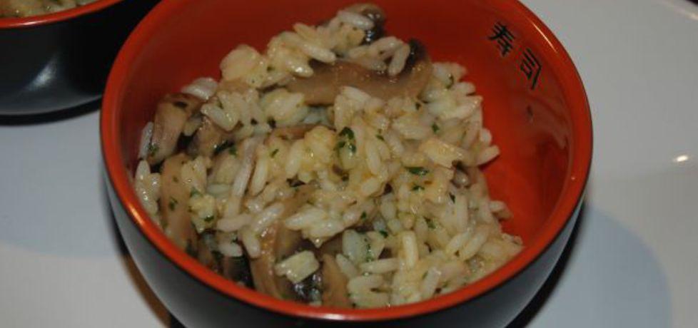 Jogurtowy ryż z pieczarkami (autor: magula)