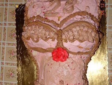 Tort bikini