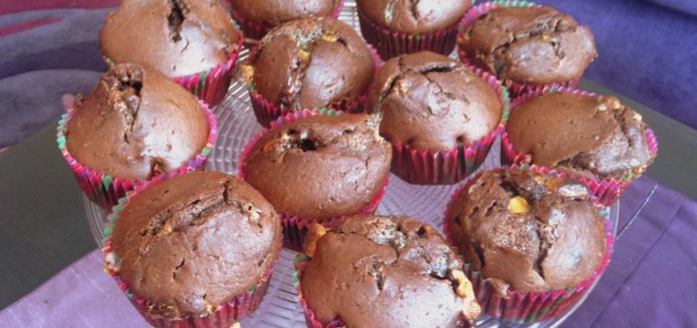 Muffinki z nutellą i białą czekoladą (autor: agnieszka189 ...