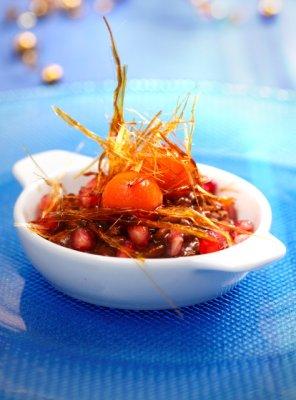 Owocowe risotto z czekoladą  prosty przepis i składniki