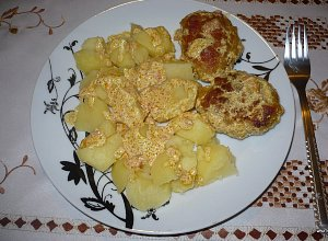 Kotlety mielone w sosie curry  prosty przepis i składniki