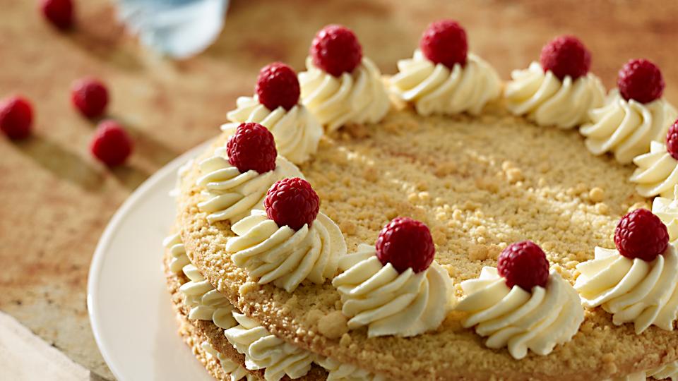 Przepis na cytrynowe orzeźwienie  ciasto z kremem