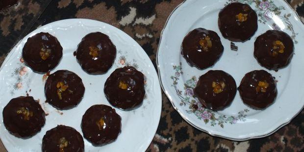 Przepis  piernikowe muffiny z bakaliami przepis