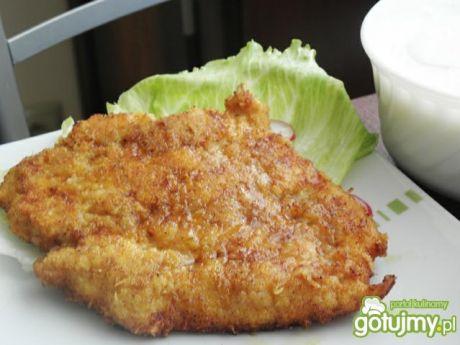 Przepis  filet z kurczaka w panierce serowej przepis