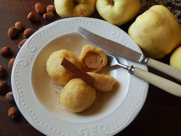 Przepis  knedle z jabłkiem i cynamonem przepis