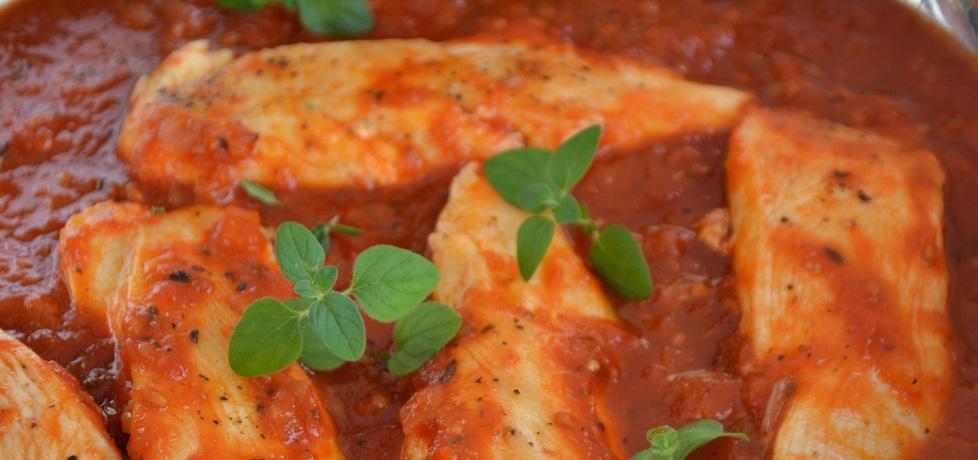 Filety z piersi kurczaka duszone w pomidorach (autor: mufinka79 ...