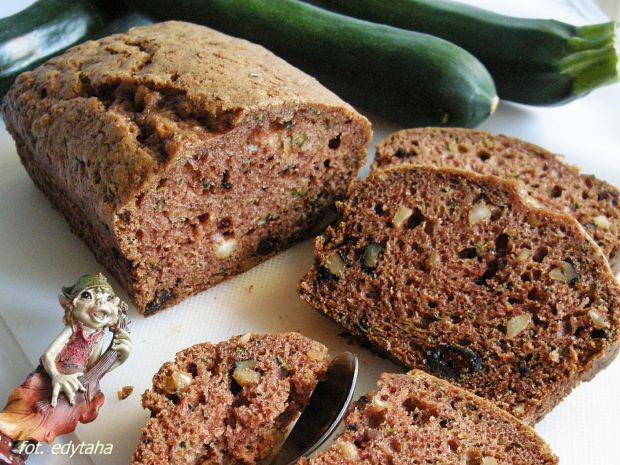 Przepis  ciasto z cukinią (zucchini bread) przepis