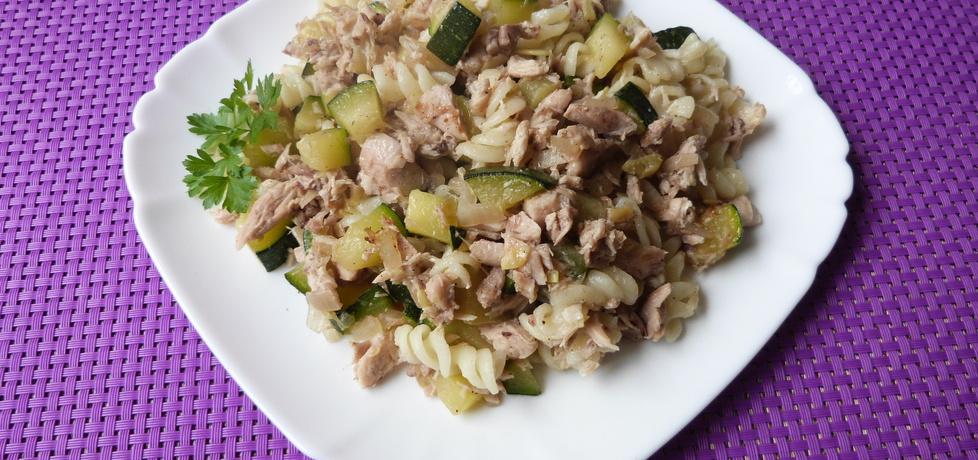 Makaron świderki z cukinią i mięsem (autor: renatazet ...