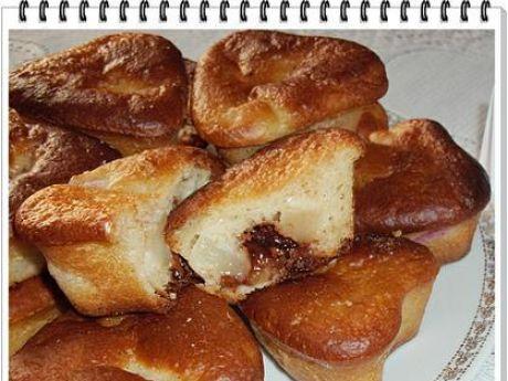 Przepis  muffinki rabarbarowo-gruszkowe eli przepis