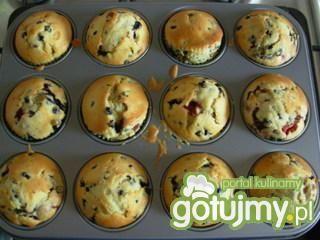 Przepis  muffiny czekoladowo-orzechowe przepis