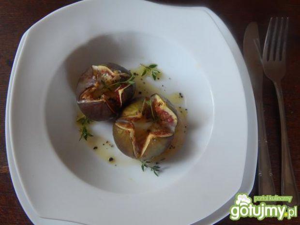 Przepis na figi zapiekane z gorgonzolą