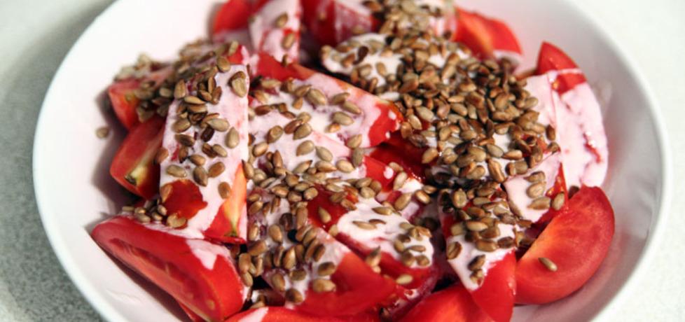 Sałatka pomidorowa wg doroty (autor: dorota20w)