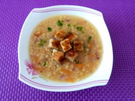 Przepis  zupa z czerwonej soczewicy przepis