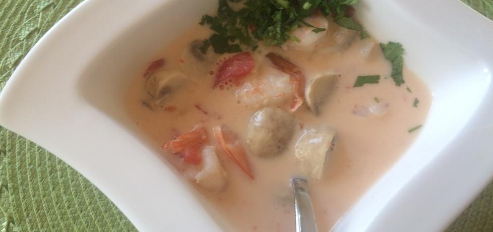 Tajska zupa z krewetkami na mleku kokosowym (autor: asiatok ...