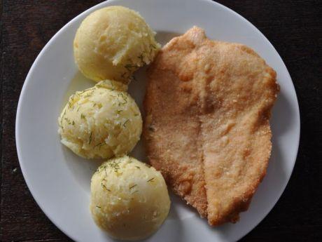 Przepis  sznycel z kurczaka z ziemniakami przepis