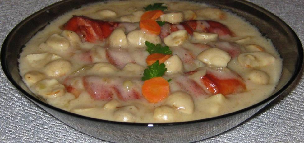 Parówki w sosie pieczarkowym (autor: katarzynka455 ...