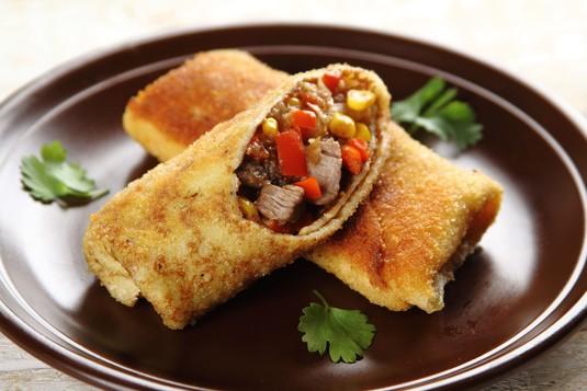 Meksykańskie krokiety z wołowiną