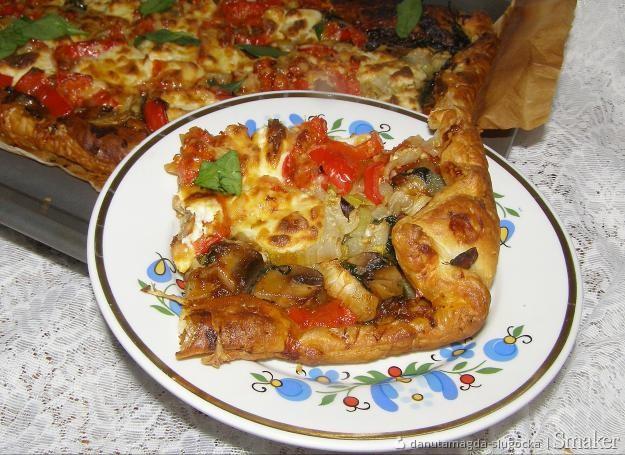Na cieście francuskim szybka pizza...