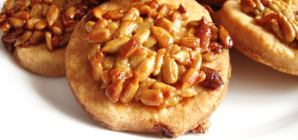 Kruche maślane ciasteczka ze słonecznikiem w karmelu (autor ...