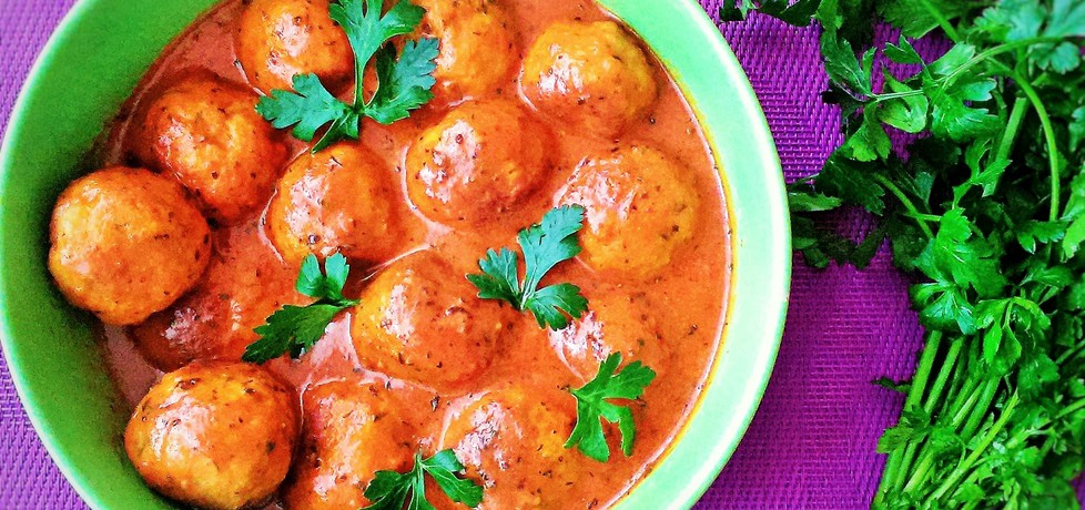 Pulpeciki drobiowe w sosie pomidorowym (autor: futka ...
