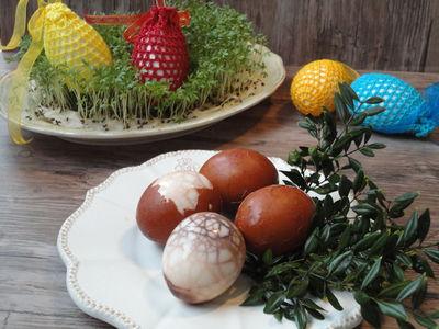Jajka w zalewie kminkowej