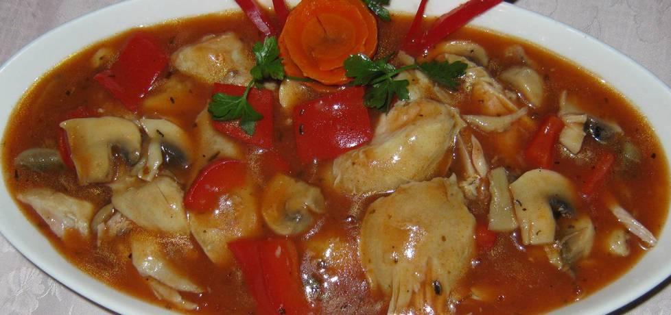 Mięso drobiowe w sosie (autor: katarzynka455)