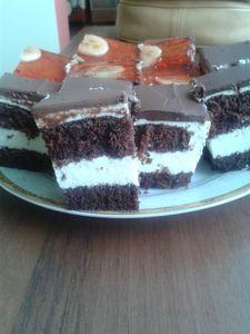 Moje ciasto czarno
