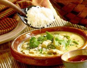 Kurczak w zielonym curry  prosty przepis i składniki