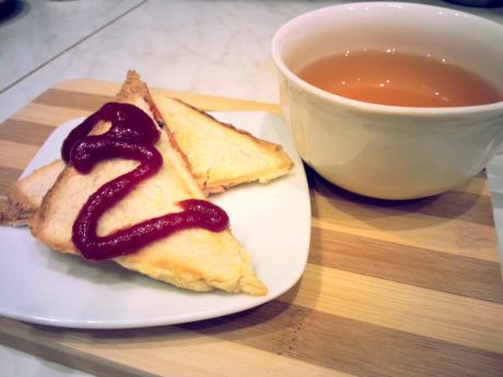 Przepis  tosty z oregano przepis
