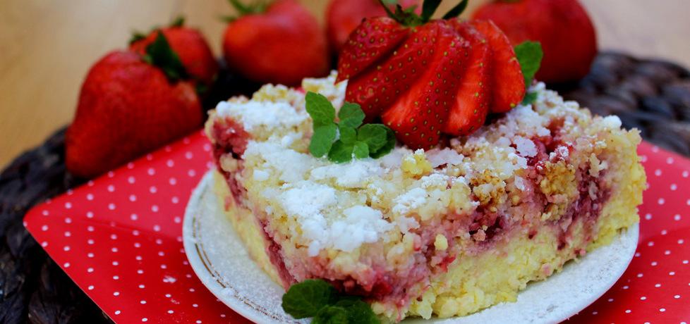 Zapiekanka z kaszy jaglanej z truskawkami (autor: ostra-na