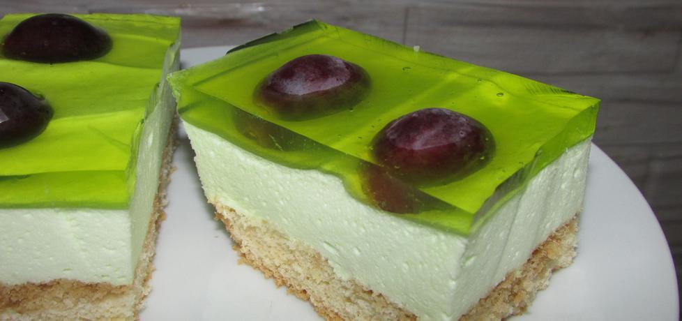 Ciasto biszkoptowe z galaretką (autor: benita ...