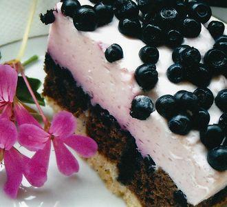 Wykwintne ciasto z pianką