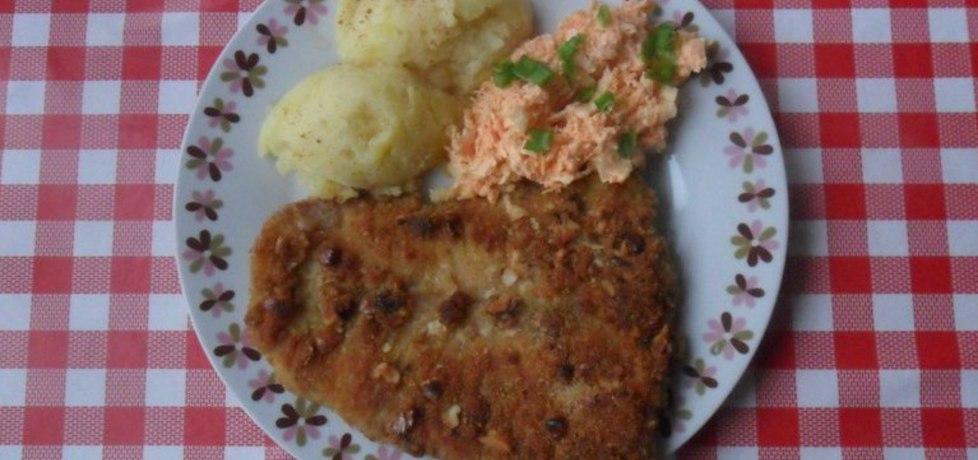Filet z ryby w panierce z orzechami (autor: ikrakowianka ...