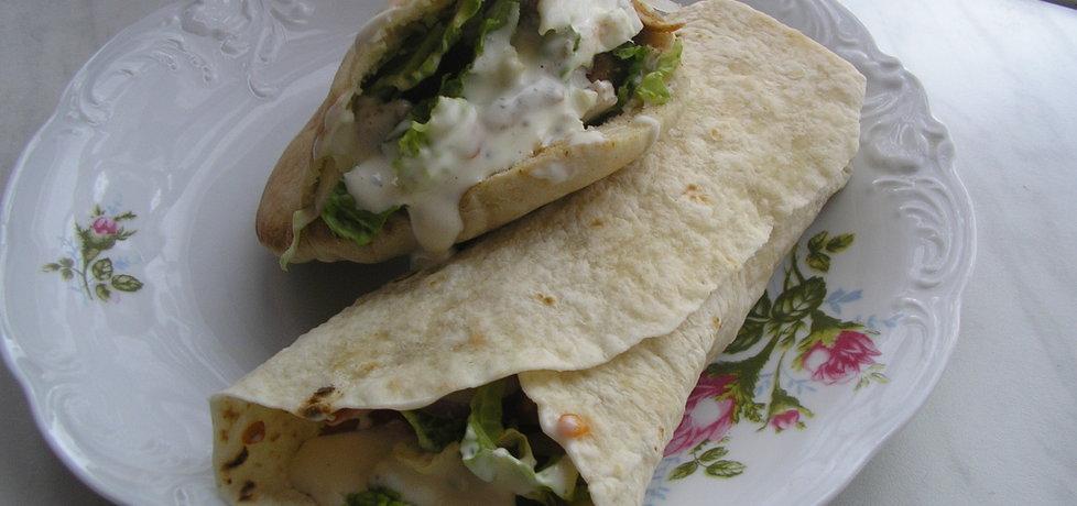 Domowy kebab drobiowy (autor: magdziorka6)