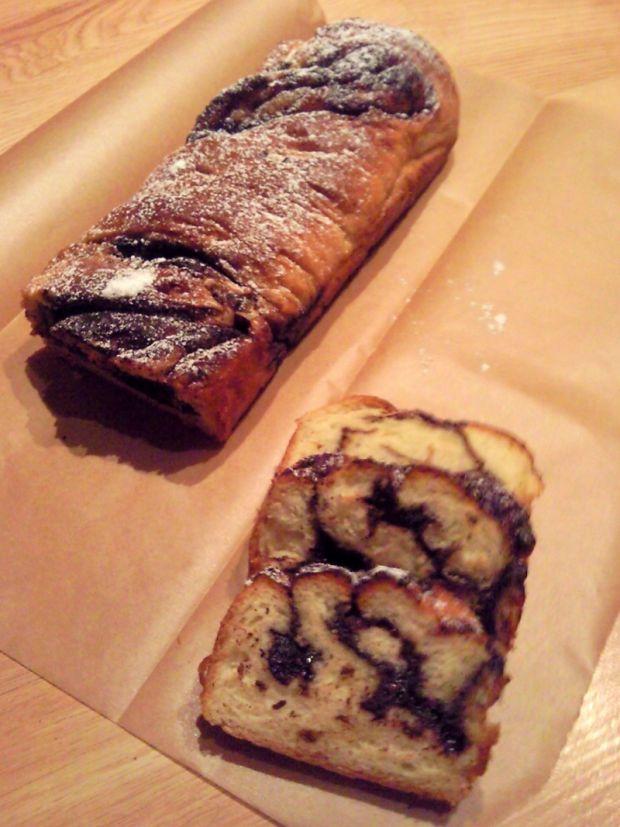 Przepis  drożdżowa babówka z kakao przepis