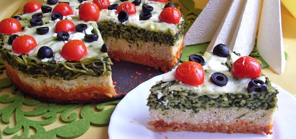 Włoski tort makaronowy (autor: mniam)